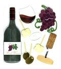 Jolee\u0027s Boutique Dimensional Embellishments-Wine Tasting