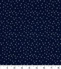 Quilter\u0027s Showcase Fabric 43\u0027\u0027-Triangle on Navy