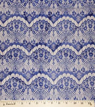 "Casa Collection Eyelash Lace Fabric 56"""