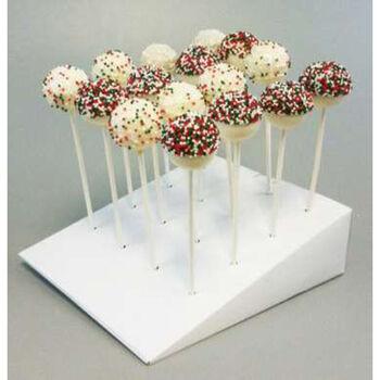 "Wilton Cake Pops Slanted Treat Stand 1/Pkg-10""X7.5"""