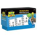 Hot Dots Flash Cards, Multiplication Facts 0-9 Set, 2 Sets