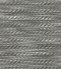 P/K Lifestyles Multi-Purpose Decor Fabric 56\u0022-Shimmy/Graphite
