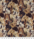 Novelty Cotton Fabric -Dogs Allover