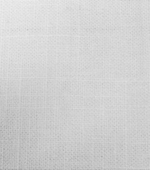 "Signature Series Lightweight Decor Linen Fabric 54""-White"