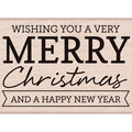 Hero Arts Wood Mounted Rubber Stamp-Christmas & New Year