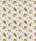 Nick Junior Paw Patrol Cotton Fabric-Christmas Stripe