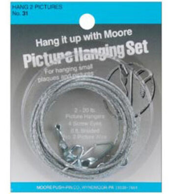 Darice Two Picture Hanging Kit