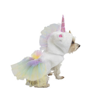 Maker's Halloween Pet Costume-Unicorn Large