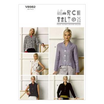 Vogue Patterns Misses Jacket-V8982