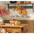 York Wallcoverings Peel & Stick Wall Decals-God Bless This Home