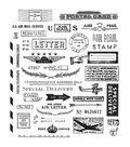 Tim Holtz Cling Stamps 7\u0022X8.5\u0022-Correspondence