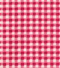 Home Essentials Upholstery Fabric 45\u0027\u0027-Fuchsia Gingham
