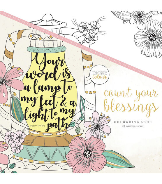Kaisercolour Coloring Book 9 75 X9 75 Count Your Blessings Joann