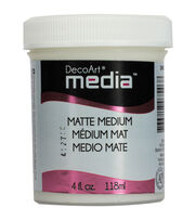DecoArt Media 4 fl. oz. Matte Medium, , hi-res