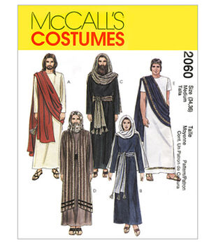 McCall's Pattern M2060 Adult Passion Play Costumes