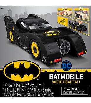 MasterPieces Batmobile Wood Craft Kit