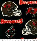 Tampa Bay Buccaneers Fleece Fabric -Logo
