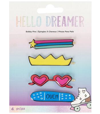 American Crafts Hello Dreamer 4 pk Bobby Pins