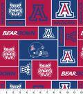 University of Arizona Wildcats Fleece Fabric 58\u0022-Block