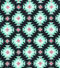 Snuggle Flannel Fabric -Breeze Aztec