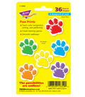 Paw Prints Mini Accents Variety Pack, 36 Per Pack, 6 Packs