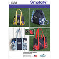 Simplicity Pattern 1338OS One Size -Crafts Accessories