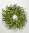 Bloom Room Spring 30\u0027\u0027 Meadow & Fern Wreath