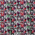 Harley Quinn Cotton Fabric-Harley Quinn and Joker
