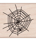 Hero Arts Mounted Rubber Stamps 1.5\u0022X2\u0022-Spider In Web
