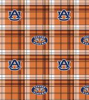 "Auburn University Tigers Fleece Fabric 58""-Plaid, , hi-res"