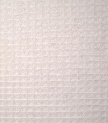 Utility Cotton Fabric Waffle Weave