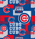 Chicago Cubs Cotton Fabric -Patch