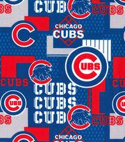 Chicago Cubs Cotton Fabric -Patch, , hi-res