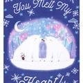 No Sew Fleece Throw 48\u0022-You Melt My Heart