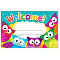 Trend Enterprises Inc. Welcome! Owl-Stars! Recognition Awards, 30/Pack