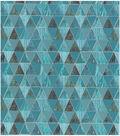 Keepsake Calico Cotton Fabric-Space Geo Met Teal