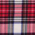 Anti-Pill Plush Fleece Fabric-Traditional Tartan Plaid Red