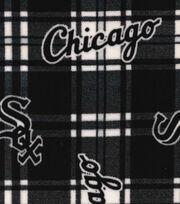 Chicago White Sox Fleece Fabric -Plaid, , hi-res