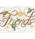 Design Works Crafts 5\u0027\u0027x7\u0027\u0027 Counted Cross Stitch Kit-Friends