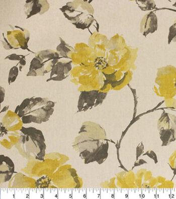 """Home Essentials Lightweight Decor Fabric 45""""-Cadence Sunny"""