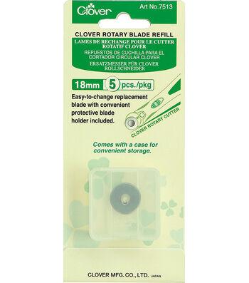 Clover Rotary Blade Refill 18mm-5pk