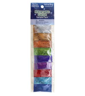 Sulyn Holographic Glitter Sample Pack .634 oz./Pkg-9 Colors