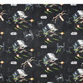 Star Wars Quilt Cotton Fabric 44\u0022-Ships Black