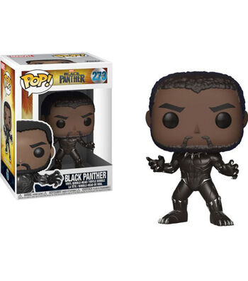 Funko Pop! Marvel Black Panther Bobble-head Figurine with Chase