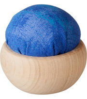 Tulip Pincushion with Wood Base-Ruri-Iro, , hi-res