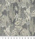 Keepsake Calico Cotton Fabric 44\u0027\u0027-Silver Cato