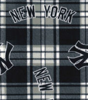 New York Yankees Fleece Fabric -Plaid, , hi-res