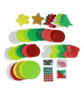 Little Makers Traditional Holiday Foam Platter