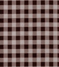 Quilter\u0027s Flannel Fabric-Brown Buffalo Plaid