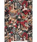 Novelty Cotton Fabric 45\u0022-Las Elegantes